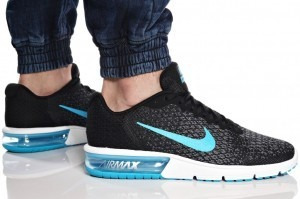 air max sequent azul