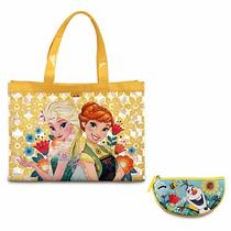 Bolsa Disney Original Frozen Branco Nova!!
