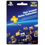 Tarjeta Gift Card Psn Playstation Plus 12 Meses Ps3 Ps4 Vita