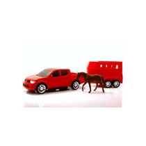 Carrinho Pick-up Rx Haras Roma - Vem Com Cavalo E Carreta