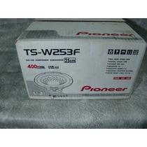 Pioneer - Sub Wooofer - 10 Polegadas - Tsw - 253f