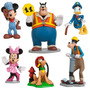 Mickey Mouse Set De Figuritas Para Torta 100%original Disney
