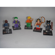 Figuras Marvel Dc Wonder Woman Joker Catwoman Aqa Tipo Leg