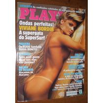 Playboy Viviane Bordin Gata Surf Nº 335 Com Poster Erótica