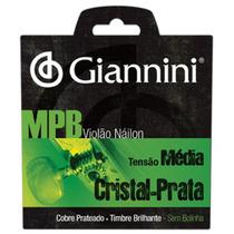 Encordoamento P/violão Genws Série Mpb Nylon Médio Giannini