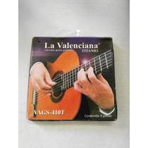 Juego De Cuerdas Para Guitarra Acustica, Marca La Valenciana