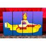 Cuadros Beatles - Submarino Amarillo. Políptico. Decoración.