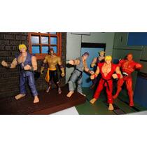 Street Fighter Ken Ryu Guile El Fuerte Seth Capcom