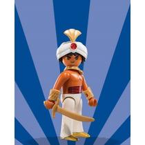 Playmobil Figures Egito Árabe Guerreiro Príncipe Aladim