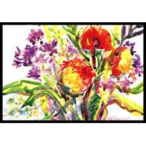 Flor Mat Interiores O Exteriores De 24x36 Felpudo