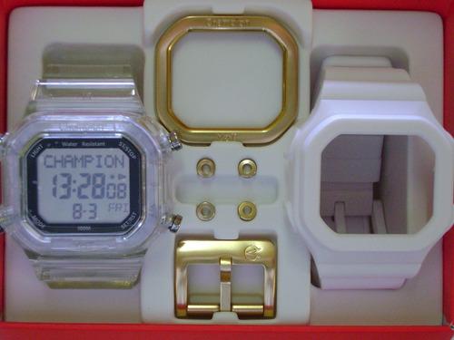 2d24a9702f7 Lançamento Relógio Champion Yot Troca Pulseiras Frete Grátis - R  184