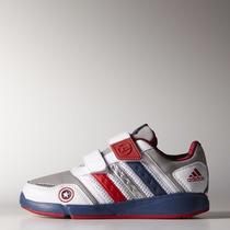 Zapatillas Adidas Avengers Captain America Low Velcro Niños