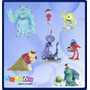 Monster Inc Disney Pixar, Set Sulley Mike Boo Randall Y Mas