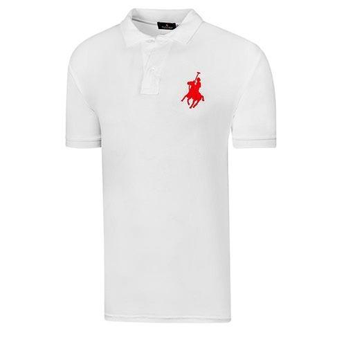 519d839e9e0e9 Playera De Manga Corta Para Hombre Polo Club Blanco 203 Dgt -   530.00 en  Mercado Libre