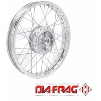 Roda Dianteira Completa Montada Ybr Factor 125 Dia-frag