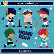 Kit Imprimible Beisbol 3 Imagenes Clipart