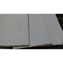 Kit. 3 Tecidos Algodão Cru Para Agulha Mágica, Sem Risco