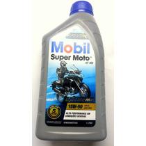 Oleo Mobil Semi Sintético Super Moto 4t Api-sl 15w-50