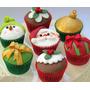 Cupcakes Galletas Y Tortas Tematicas Navideñas,.novenas Etc