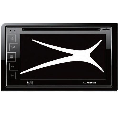 Autoestereo Altec Pantalla 6.2 Dvd Bluetooth Usb Sd Fm Gps - $ 6,600.00 en Mercado Libre