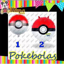 25 Globos De Pokebolas Pokemon O Pokemon Go Envio Dhl