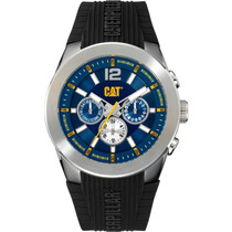 Cat Watches T7 Multi 44mm Caratula Azul Ab14921632 Diego Vez