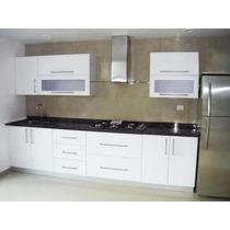 Cocina Integral Minimalista 2.70m Gabinete Alacena Cubierta