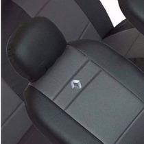 Capas De Couro Courvin/tecido Renault Logan,clio,sandero