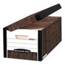 Paq.20 Cajas Archivo Muerto Carton Bankers Box Tamaño Oficio