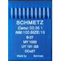Aguja Schmetz B27 - Maquina Overlock - Fileteadora - Blister