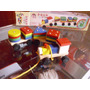 Juguete Didáctico Tren De Madera Con Encajes Geométricos