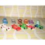 Lote De 11 Autos Huevos Kinder Miñiaturas (cars)