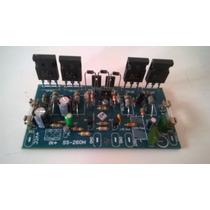 Placa Montada Amplificador 260wrms Classe Ab + Brinde !!