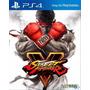 Street Fighter V 5 Sfv Ps4 Digital Tu Ususario Maximo Games