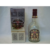 Whisky Chivas Regal 12 Botella C/caja Vacia - Changoosx