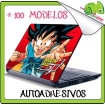 Skin Autoadhesivo Decora Y Protege Laptop Anime Otaku Manga