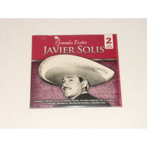 Javier Solis Grandes Exitos 2 Cd Nuevo, Sellado