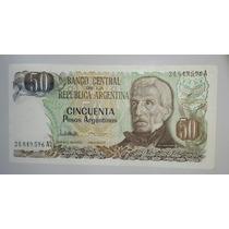 Billete 50 Pesos Argentinos Serie A *068