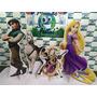 Kit Displays De Chão Rapunzel Enrolados 8 Peças, Mdf 3mm