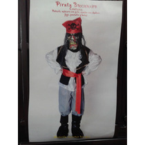Disfraz De Pirata Terror Completo