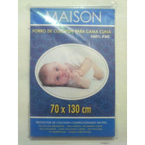 Forro Protector Impermeable De Colchon Cama Cuna Bebes