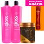 Kit Fox Gloss Tratamento Térmico + Botox Ultra Condicionante
