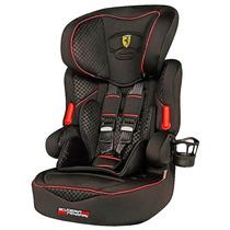 Cadeira Auto Beline Ferrari Black Poltrona Carro 9 À 36kg