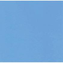 Papel Adesivo Vinil Contact Azul Claro Fosco 45 Cm X 10 Mts