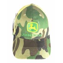 Boné John Deere Camuflado Militar Original Rede Peao Wear