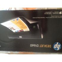 Impresora Hp Deskjet D1660 Totalmente Nueva, Sin Cartuchos.