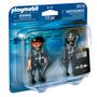 Playmobil 2 Policias Superequipados Escudo 5515