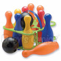 Juego De Bowling Plástico Bolos 10 Bolos 2 Bolas Para Chicos