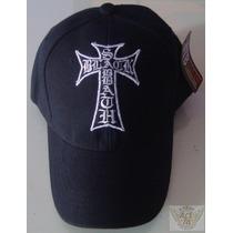 Black Sabbath Gorra Ngr Logo En Forma De Cruz Heavy Danbr68