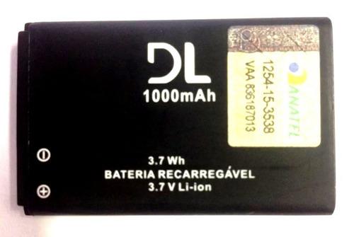 d61f8221f4f Bateria Nokia 6631 6670 6680 6681 6682 Bl-5c 3.7v 1000mah - R$ 30,89 em  Mercado Livre